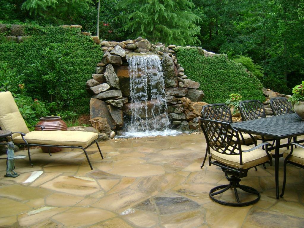 Водоемы с водопадом своими руками 30